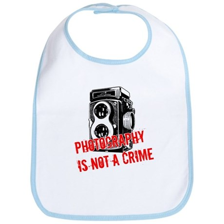 Photography Is Not A Crime Bib