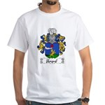 Verardi Family Crest White T-Shirt