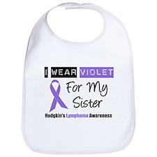 I Wear Violet For My Sister Bib