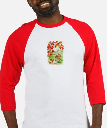 Thanksgiving Farm Design Baseball Jersey