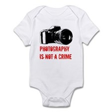 Photography Is Not A Crime Infant Bodysuit