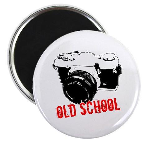 "Old School 2.25"" Magnet (100 pack)"