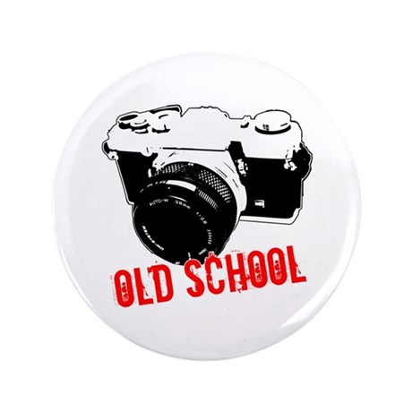 "Old School 3.5"" Button (100 pack)"