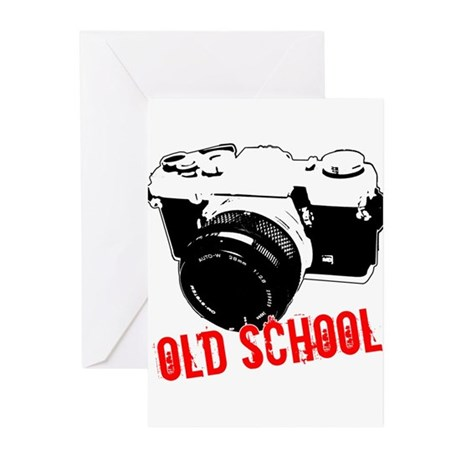 Old School Greeting Cards (Pk of 20)