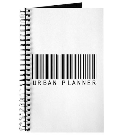Urban Planner Barcode Journal