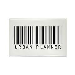 Urban Planner Barcode Rectangle Magnet