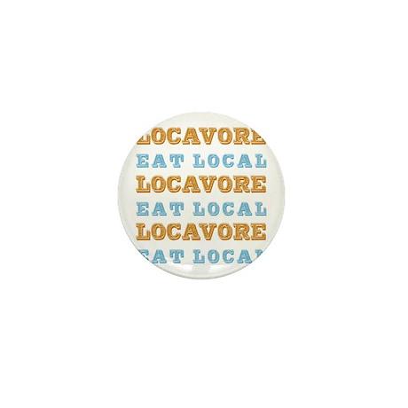 Locavore Eat Local Mini Button (100 pack)