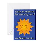 Solstice Pride Greeting Card