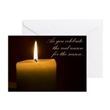 Solstice Candle Greeting Cards (Pk of 20)