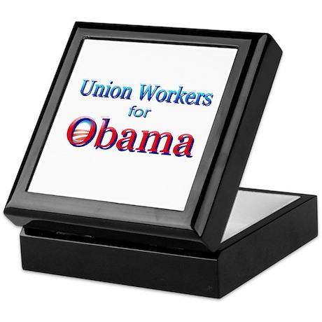 Union Keepsake Box