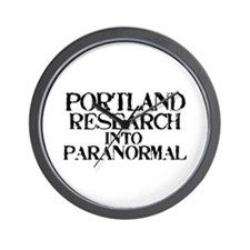 Portland Research Into Paranormal Wall Clock