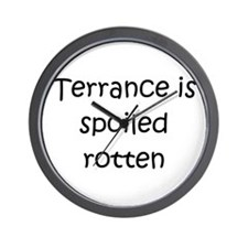 Terrance name Wall Clock