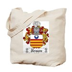 Vernazza Family Crest Tote Bag