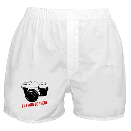 f/8 and be there Boxer Shorts