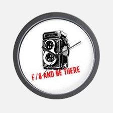 f/8 and be there Wall Clock