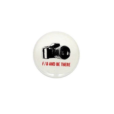 f/8 and be there Mini Button (100 pack)