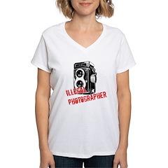 Illegal Photographer Shirt