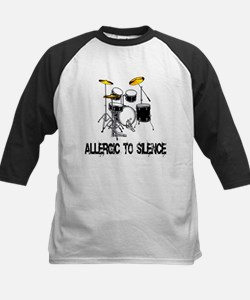 Allergic to silence drummer Tee