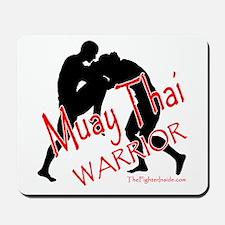 Muay Thai Warrior Mousepad