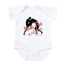 Muay Thai Warrior Infant Bodysuit