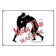 Muay Thai Warrior Banner