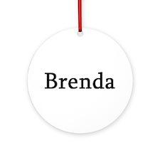 Brenda - Personalized Keepsake (Round)