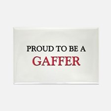 Proud to be a Gaffer Rectangle Magnet