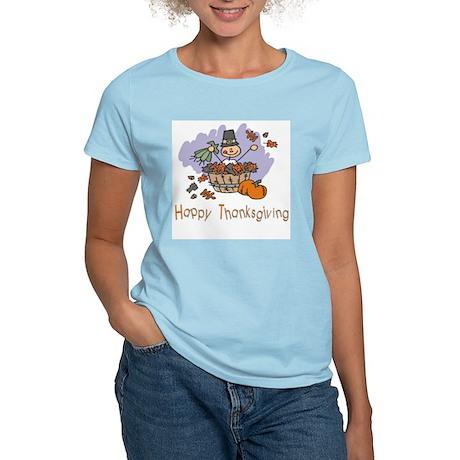 Happy Thanksgiving Women's Light T-Shirt