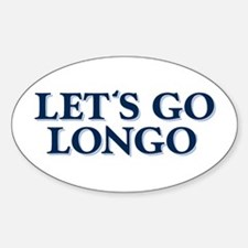 LET'S GO LONGO Oval Decal