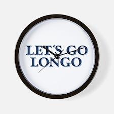 LET'S GO LONGO Wall Clock