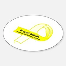Reach Out Oval Decal