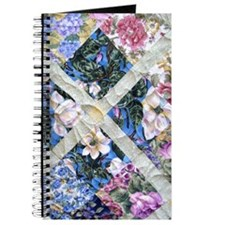 Lavender & White Floral Delight Journal