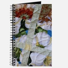 White Floral Delight Journal