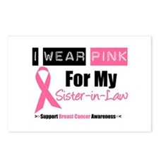 I Wear Pink (SIL) Postcards (Package of 8)