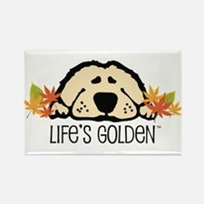 Life's Golden Fall Rectangle Magnet (100 pack)