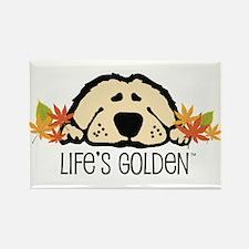 Life's Golden Fall Rectangle Magnet