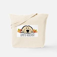 Life's Golden Fall Tote Bag