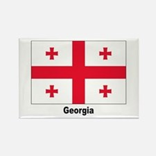 Georgia Flag Rectangle Magnet