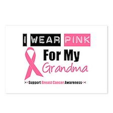 I Wear Pink (Grandma) Postcards (Package of 8)