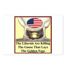"""Libs Are Killing Us"" Postcards (Package of 8)"