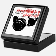 Everything's a photo op Keepsake Box
