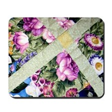 Floral Delight Mousepad
