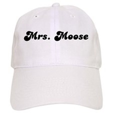 Mrs. Moose Baseball Cap