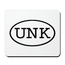 UNK Oval Mousepad
