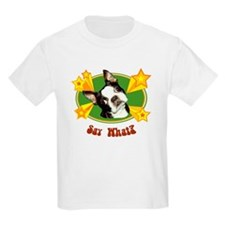 Retro Boston Terrier Kids T-Shirt