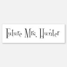 Future Mrs. Hunter Bumper Bumper Bumper Sticker