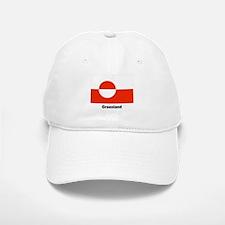 Greenland Flag Baseball Baseball Cap