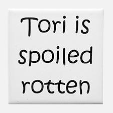 Unique Tori Tile Coaster