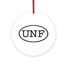 UNF Oval Ornament (Round)