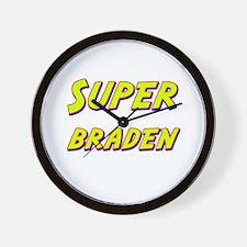 Super braden Wall Clock